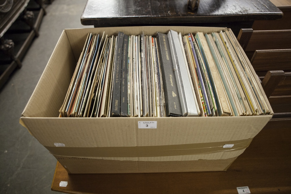 Lot 3 - A QUANTITY OF VINYL LP RECORDS