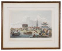 William Alexander 'View of the suburbs of a Chinese city'