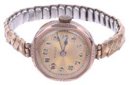 A 9ct gold Rolex ladies wristwatch