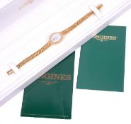 A 9k gold Longines ladies wristwatch