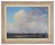 Albert Hemelman (Dutch 1883-1951) 'A view of Amsterdam'