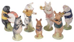 A Beswick part Pig Band