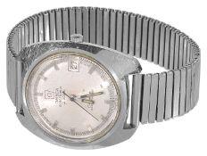 An Omega Electronic f 300Hz chronometer gentleman's wristwatch