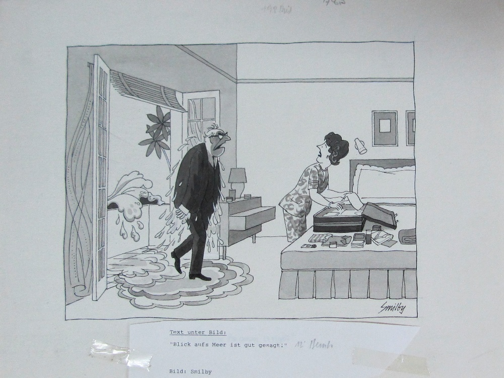 Lot 2 - Smilby, Francis Wilford-Smith 'What worries me is I don't know weather it's old age creeping up ...'
