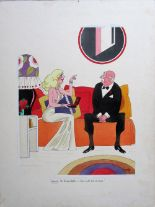 Lot 43 - Smilby, Francis Wilford-Smith 'Wowee, Mr Bickersteth - this calls for a drink'