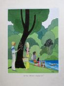 Smilby, Francis Wilford-Smith 'Gee Dave - that was a swinging picnic' cartoon