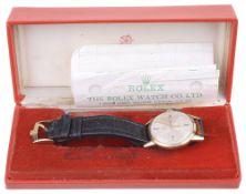A 9ct Tudor gentleman's wristwatch