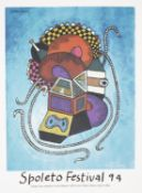 A collection of six Spoleto Festival Posters (6)