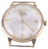 A 9ct gold Swiss Emperor gentleman's wristwatch