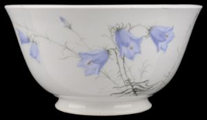 A delightful Royal Worcester porcelain bowl, circa 1919