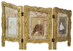 The three section picture frame, early 20th c.