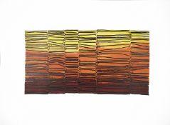 """Robert Adams (Brit. 1917 - 1984) """"Screen Form"""" lithograph"""