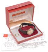 An Omega De Ville Automatic gentleman's wristwatch,