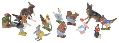 Nine Cadbury's Coco Cubs lead model animals(12)