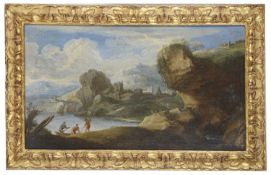 Carlo Antonio Tavella (Italian,1668-1738) Two oils on canvas; other(5)