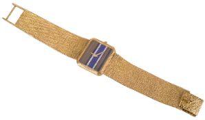 A 18k gold and diamond Corum ladies wristwatch