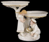 A Royal Worcester table centrepiece/comport