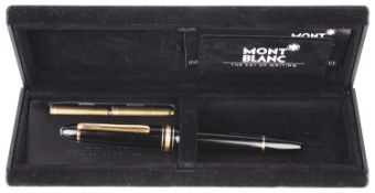 A Mont Blanc Meisterstuck fountain pen