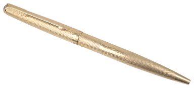 An 18ct gold Parker roller ball pen