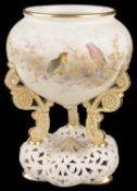 A Graingers Worcester vase