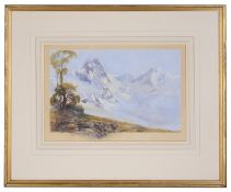 An early 20th c. topographical watercolour; William Powell