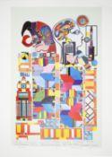 Sir Eduardo Paolozzi CBE RA (Scot, 1924 - 2005) artists proof