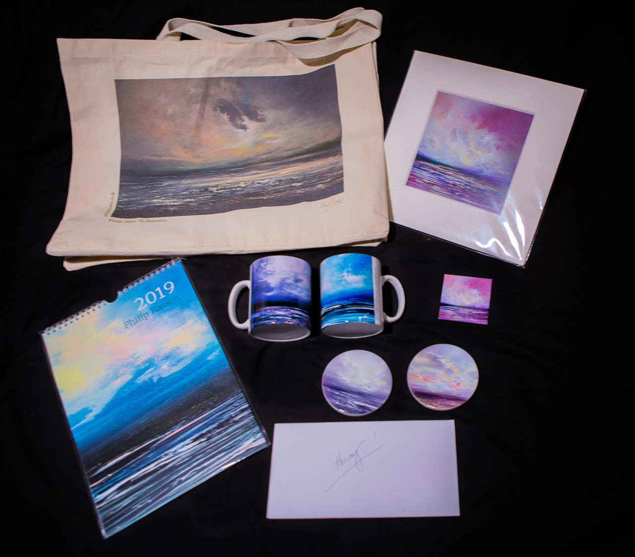 Lot 64 - Philip Raskin Signed Artwork Goodie Bag