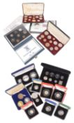 A collection of Silver UK Commemorative Coinage (qty)