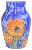 A Clarice Cliff 'Marigold' pattern baluster vase