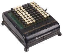 A Burroughs Calculator, circa 1920's