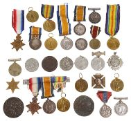 A collection of mainly W.W.I Military medals (qty)