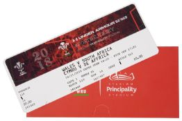**Wales vs. South Africa Rugby Game With Richard Madley