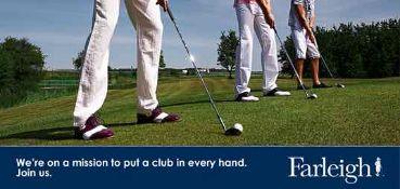 Golf club experience at Farleigh Golf Club, Surrey