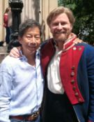**An amazing experience to join Les Miserables lead actor Dean Chisnall & our very own Gary Pe