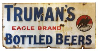 Two vintage enamelled advertising signs