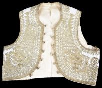 An Ottoman or Middle Eastern child's waistcoat