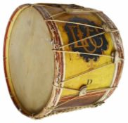 A late 19th/20th century large vintage Hawkes and Son procession drum
