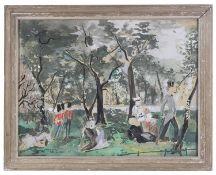Emilio Grau-Sala (Spanish, 1911-1975) 'London', watercolour