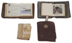 Four miniature books of Shakespeare incl Richard II and Twelfth Night