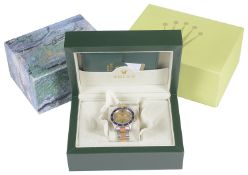 A Rolex Oyster Perpetual Date Submariner wristwatch