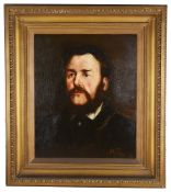 English School, late 19th century 'Portrait of a gentleman', oil on canvas