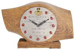 WWII propeller clock commemorating the Biggin Hill Wing's 1000th kill