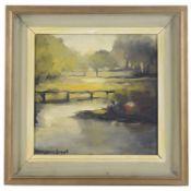 Marianne Grant (Czech, 1921-2007) 'Spring 28', oil on canvas