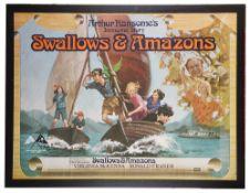 Swallows & Amazons' Brit. Quad Film Poster