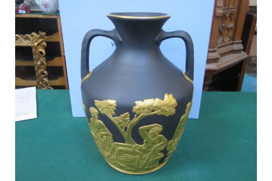 Extremely Rare Wedgwood Portland Vase Generally Considered To Be
