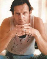 Lot 39 - Liam Neeson signed 10 x 8 colour Photoshoot Portrait Photo, from in person collection autographed at