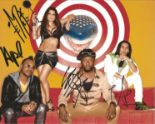 Lot 36 - Black Eyed Peas signed 10 x 8 colour Music Promo Landscape Photo, from in person collection