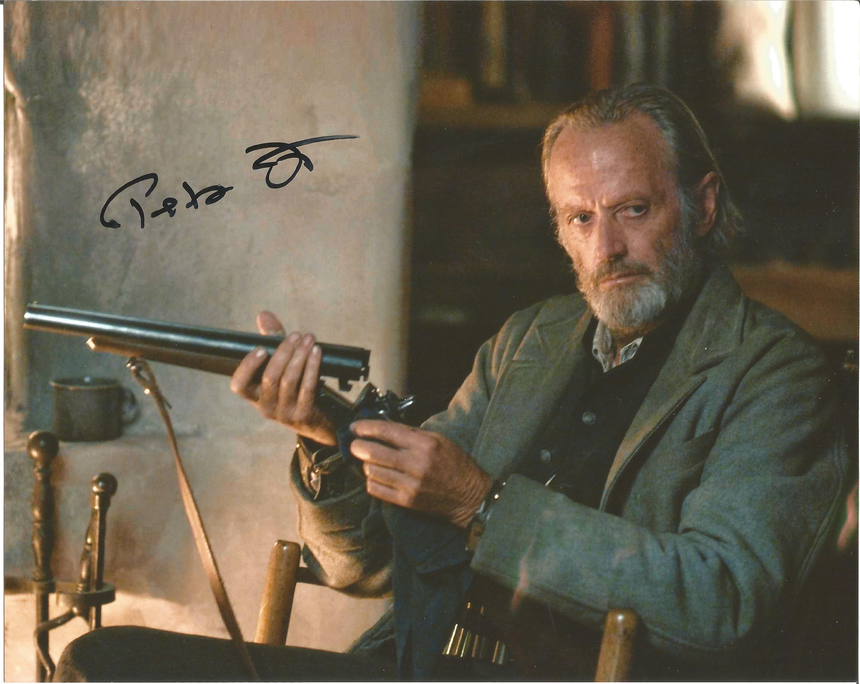 Lot 59 - Peter Fonda signed 10 x 8 colour 310 To Yuma Landscape Photo, from in person collection