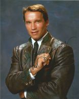 Lot 29 - Arnold Schwarzenegger Photoshoot Portrait Photo, from in person collection autographed at The