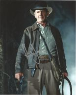 Lot 26 - Harrison Ford signed 10 x 8 colour Indiana Jones Portrait Photo, from in person collection